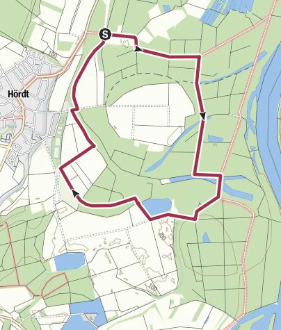 Karte / Hördt - Tulpenbaumweg