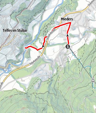 Mapa / Zulauf Gallhof-Runde