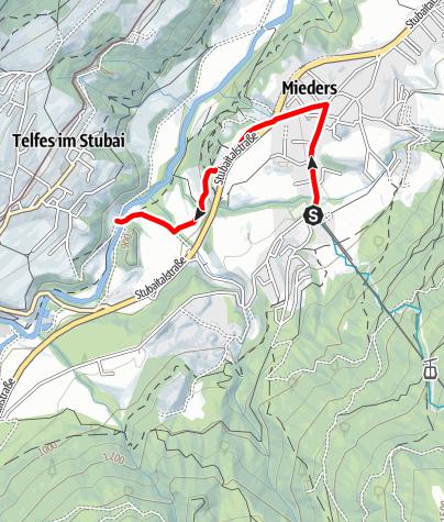Karte / Zulauf Gallhof-Runde