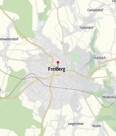 Karte / Stadtwirtschaft Freiberg