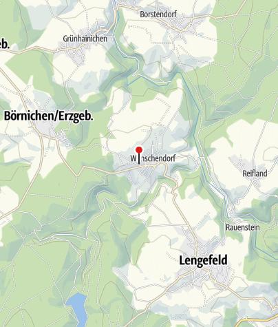 Karte / Bierfabrik Erzgebirge Pockau-Lengefeld