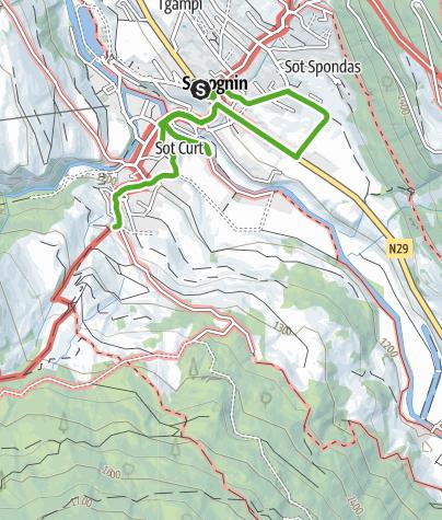 Karte / Segantini in Savognin