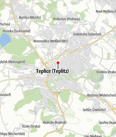 Karte / Pivovar Monopol - Teplice