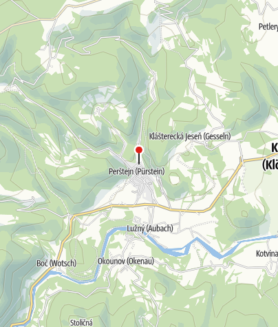 Karte / Rodinný Pivovar Chalupník - Perstejn