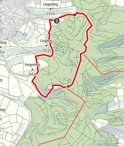 Karte / EP2 - Rund um den Ottilienberg mittlere Runde