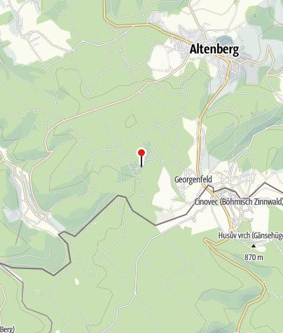 Karte / Biathlon Sparkassen-Arena Altenberg