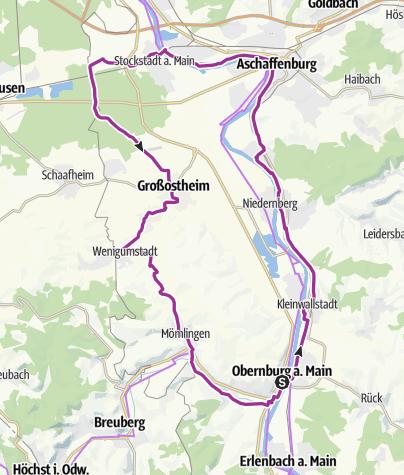 Karte / Obernburger Stern - Main-Bachgau-Mömlingtal
