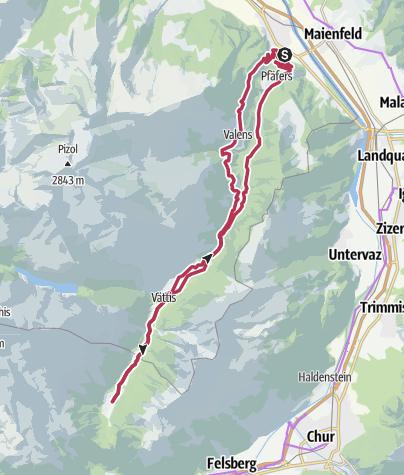 Map / E-Bike Trophy - finish Restaurant Eggwald