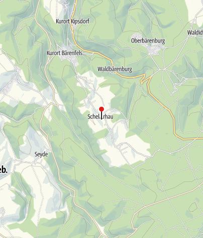 Karte / AHORN Waldhotel Altenberg