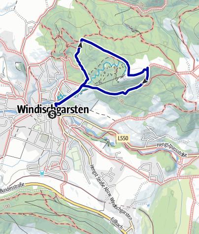 Karte / Wurbauerkogel - Abenteuerberg  ab Windischgarsten