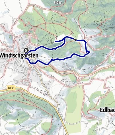 Karte / Wurbauerkogel ab Windischgarsten über Troier und Mostschänke Horner