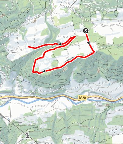 Karte / Vorberg Trail
