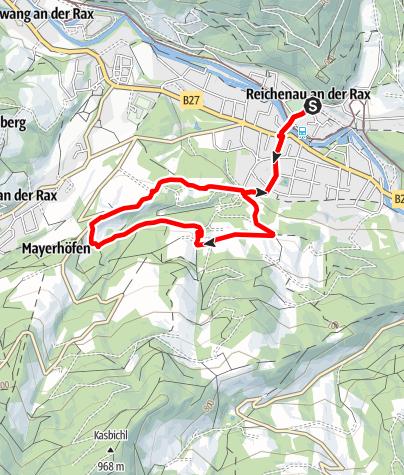 Mapa / Hinterleitenrunde
