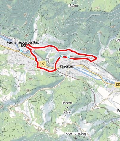 Mapa / Sonnenpromenade