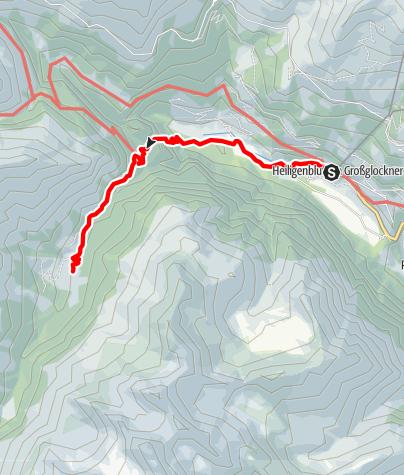 Karte / Gößnitztal: Das Almtal