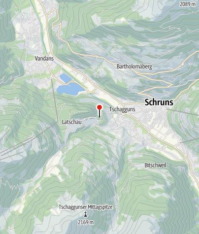Kaart / Waldhaus Rappenkopf