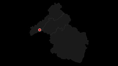 Karte / Rheinland-Pfalz Radroute - Etappe Hermeskeil - Birkenfeld - Burg Thallichtenberg