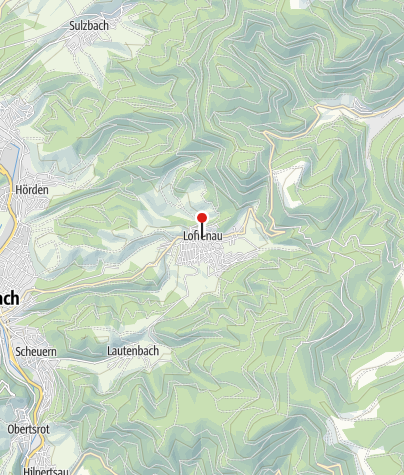 Karte / Tourist-Information Loffenau / Rathaus