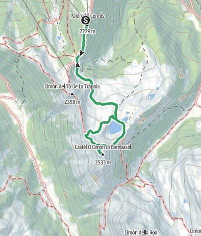 Karte / Cermiskyline