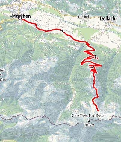 Karte / MTB Zollnerseehütte
