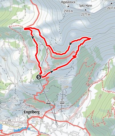 Kaart / Brunnipfad
