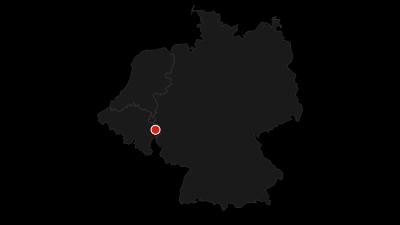 Karte / RurUfer-Radweg