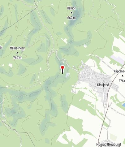 Térkép / Csehvár