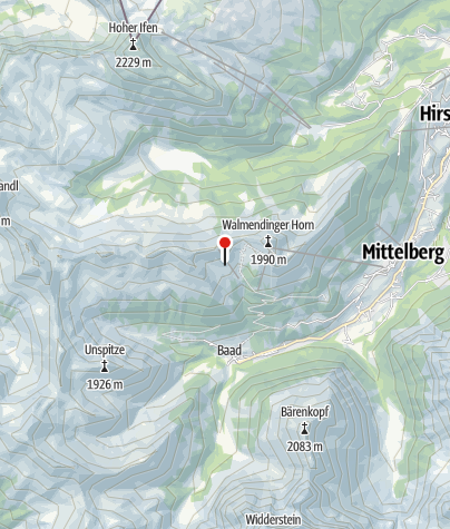 Map / Obere Lüchlealpe