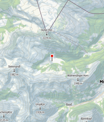 Map / Alp Melköde - Gourmet hut
