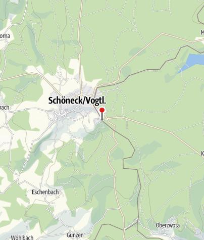 Karte / Tourist-Information Schöneck
