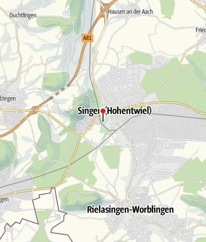 Karte / Holzingers Pavillion