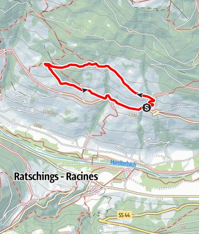 Mapa / Rundwanderung Telfes