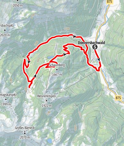 Karte / Mörsbach Runde