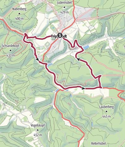 Map / Wanderfit - Das romantische Karlstal