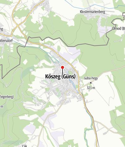 Térkép / Csabi-Hami Ételbár (Kőszeg)