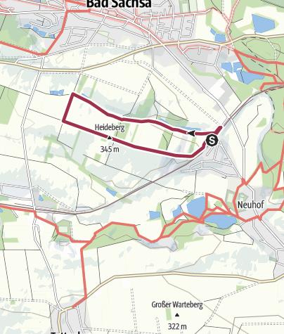 Karte / Lehrpfad Neuhof-Schwiebachtal