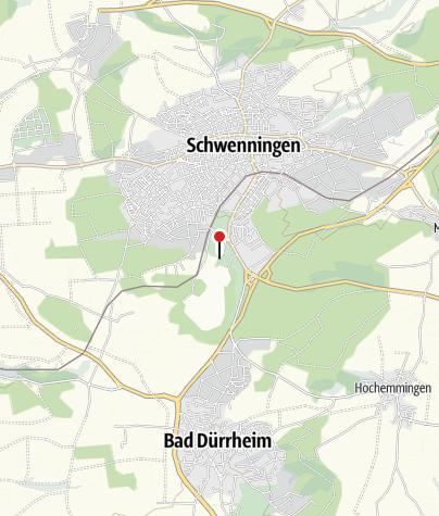 Karte / Jungsteinzeitliche Häuser im Moor