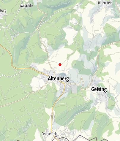 Karte / Parkplatz Geisingberg Altenberg