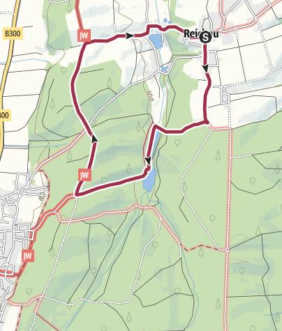 Karte / Rundweg Reichau