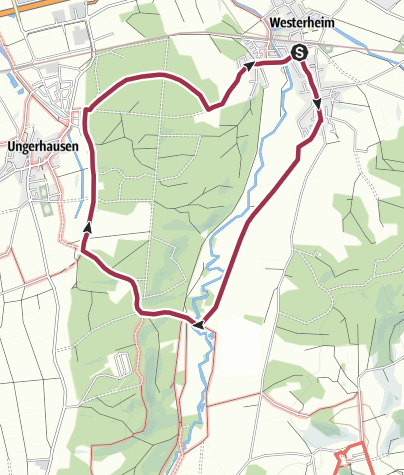 Karte / Ungerhauser Wald Runde