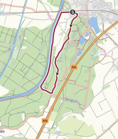 Karte / Kleine Illerabbruch Runde