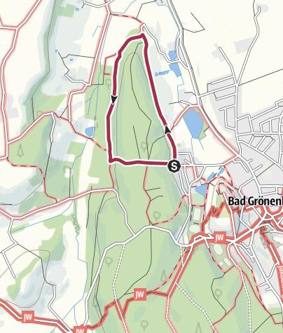 Karte / Rundweg Pfaffenhalde