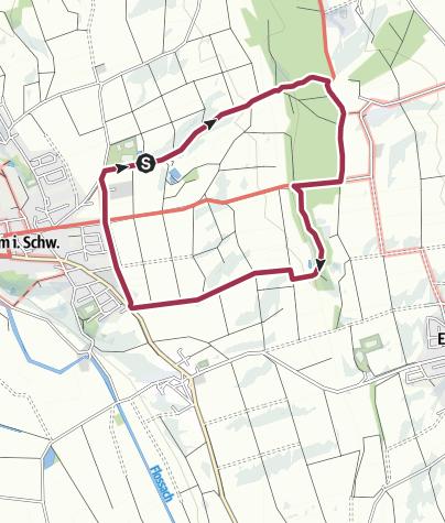 Karte / Um den Hagenbühl
