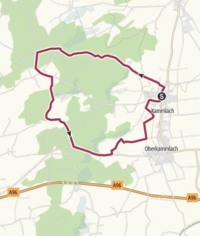 Karte / Kammlacher Runde