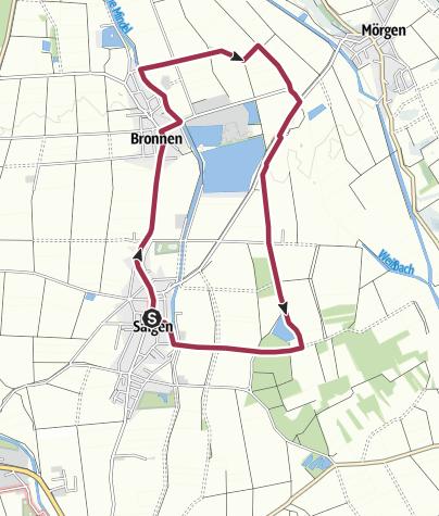Karte / Rundweg Fischereihof