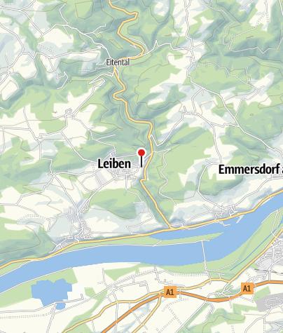Mapa / Tavernen Heuriger Leiben