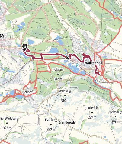Karte / Bad Sachsa zum ZisterzienserMuseum Kloster Walkenried