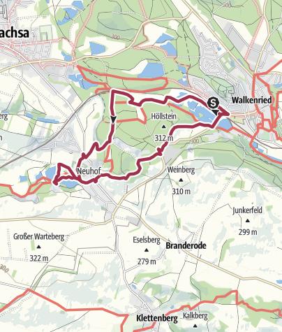 Karte / Stempel sammeln in Walkenried Tour 4 – 2 Stempel