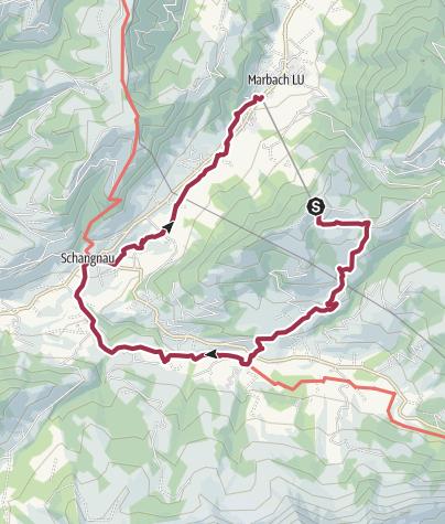 Karte / Marbachegg - Bumbach - Marbach