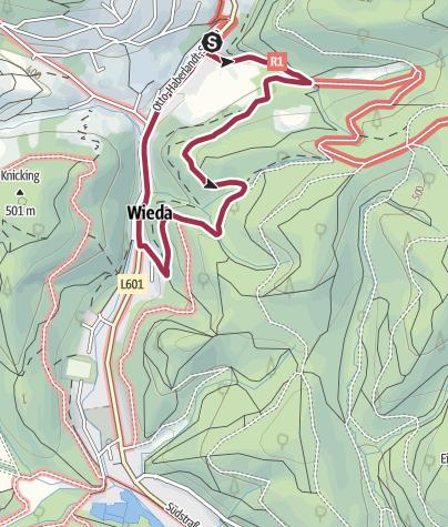 Karte / Stempel sammeln in Wieda Tour 6 – 1 Stempel